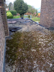 flat roof refubishment