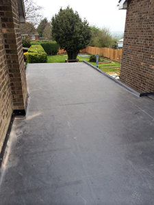 residential flat roof refurbishment