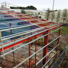 New build roofing and cladding