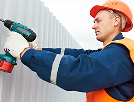 Industrial cladding repair